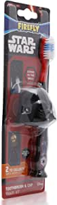 Firefly Star Wars Darth Vader Children's Soft Tooth Brush with Cap