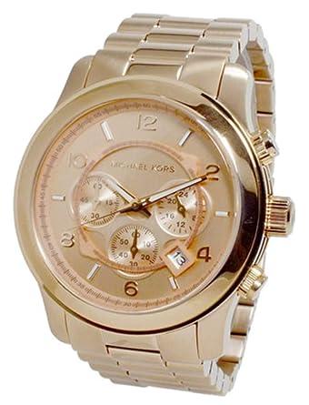 6b2a1cd492d5 マイケルコース MICHAEL KORS 並行輸入品 腕時計 Large Runway Chronograph ラージ ランウェイ クロノグラフ ピンク