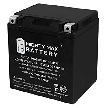 Harley Davidson Battery >> Mighty Max Battery Ytx30l Bs Battery For Harley Davidson Fl Flh Touring 1450cc 99 Brand Product