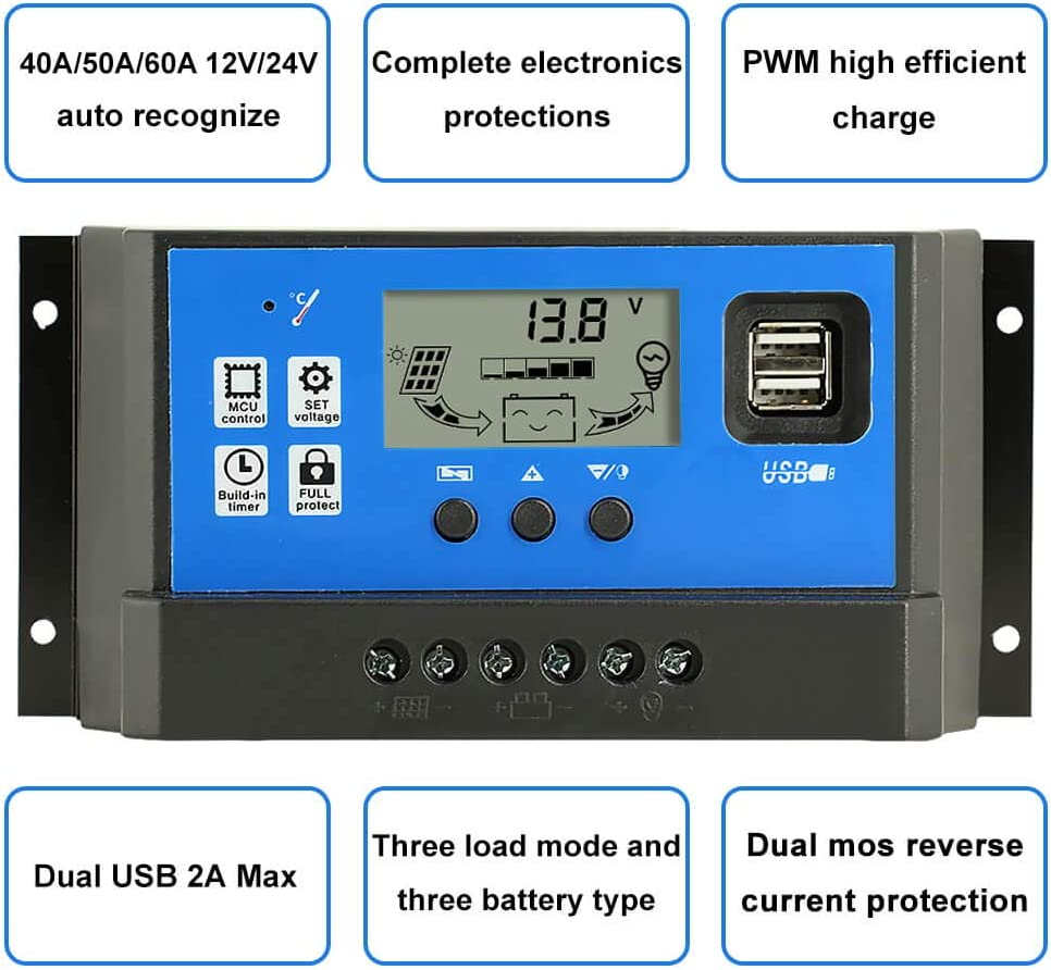 Powmr 40a Charge Controller Solar Panel Charge Controller 12v 24v Adjustable Parameter Lcd Display Current Capacity And Timer Setting On Off Solar Regulator With 5v Dual Usb Cm 40a Energy Controllers You can adjust your cookie preferences at the bottom of this page. creche do re mi