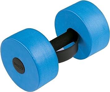Beco Aqua - Mancuernas de fitness de natación piscina formación PE espuma mancuernas, Azul: Amazon.es: Deportes y aire libre