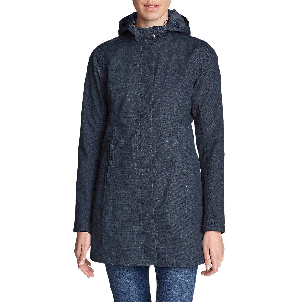 Eddie Bauer Women's Mackenzie Trench Coat, Navy S