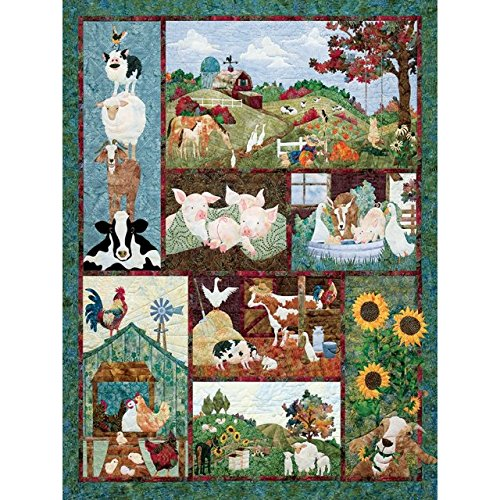 Outset Media Jigsaw Puzzle 500 Pieces -Back On The - On The Farm Quilting
