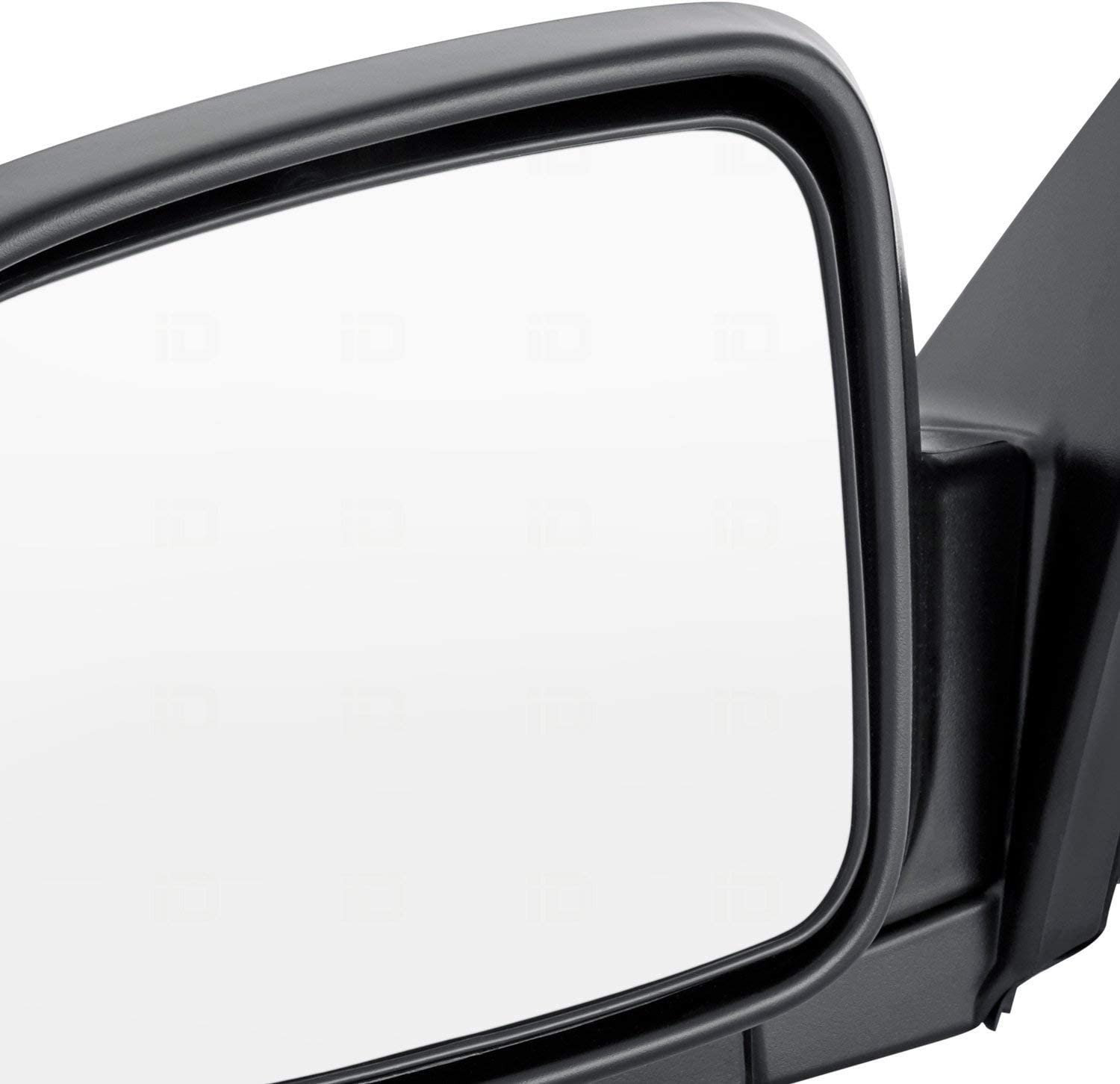 for 2002-2006 Honda CR-V Non-Heated Roane Concepts Replacement Left Driver Side Door Mirror Power Folding HO1320215 Black