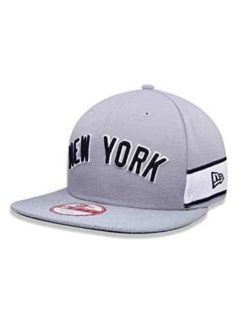 BONE 950 ORIGINAL FIT NEW YORK YANKEES MLB ABA RETA SNAPBACK CINZA NEW ERA 99e1bbeeadc