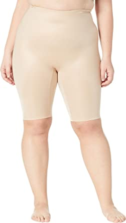 007b40fb673 SPANX Women s Plus Size Power Conceal-Her Extended Length Shorts Natural  Glam 1X