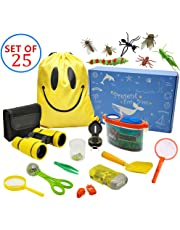 MIMIEYES Kit de exploración al Aire Libre para niños - 25 Pack Kids Adventurer Set de