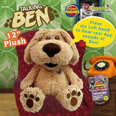 Dragon-i Toys Talking Ben Plush by Dragon-i Toys