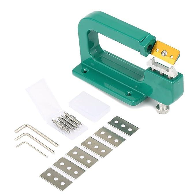 Craft Leather - Juego de 14 piezas de esquís de piel para pelar, 30 mm, herramientas: Amazon.es: Juguetes y juegos