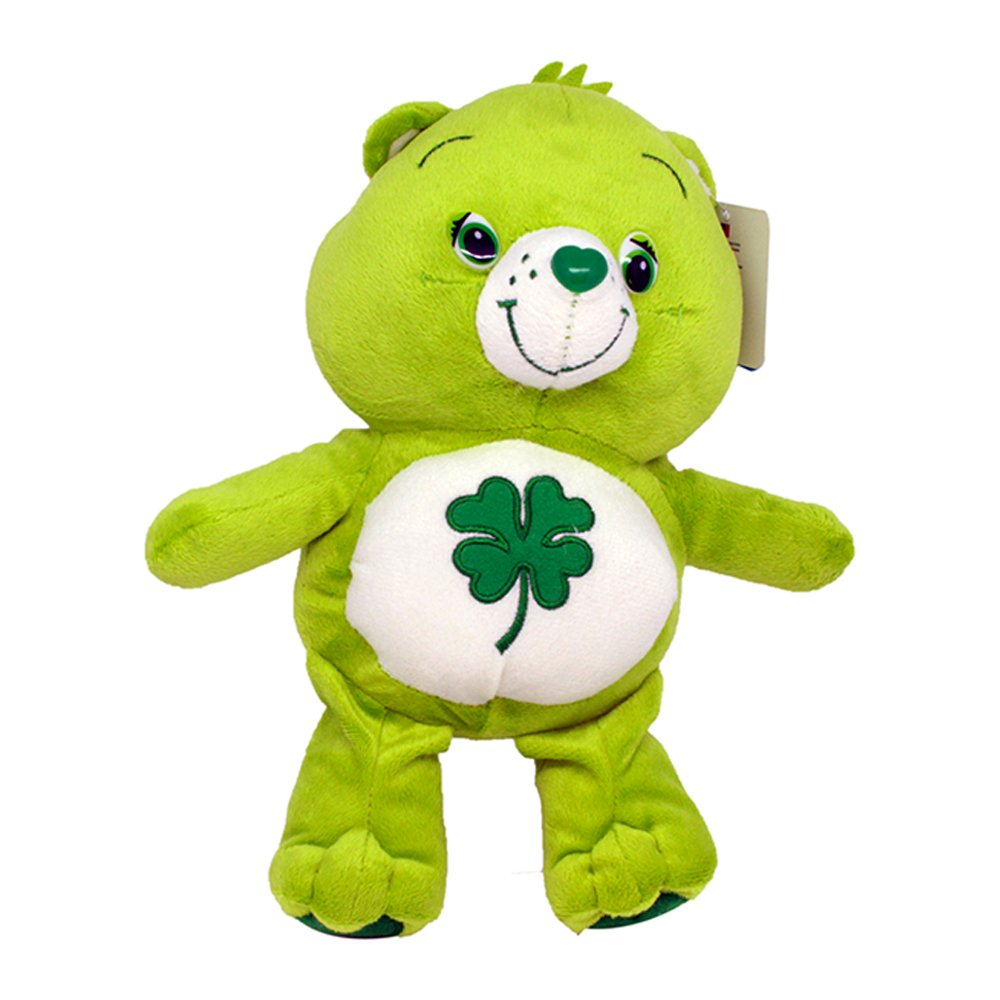 good luck care bear 12 u0027 u0027 16 u0027 u0027 super soft teddy toy plush green