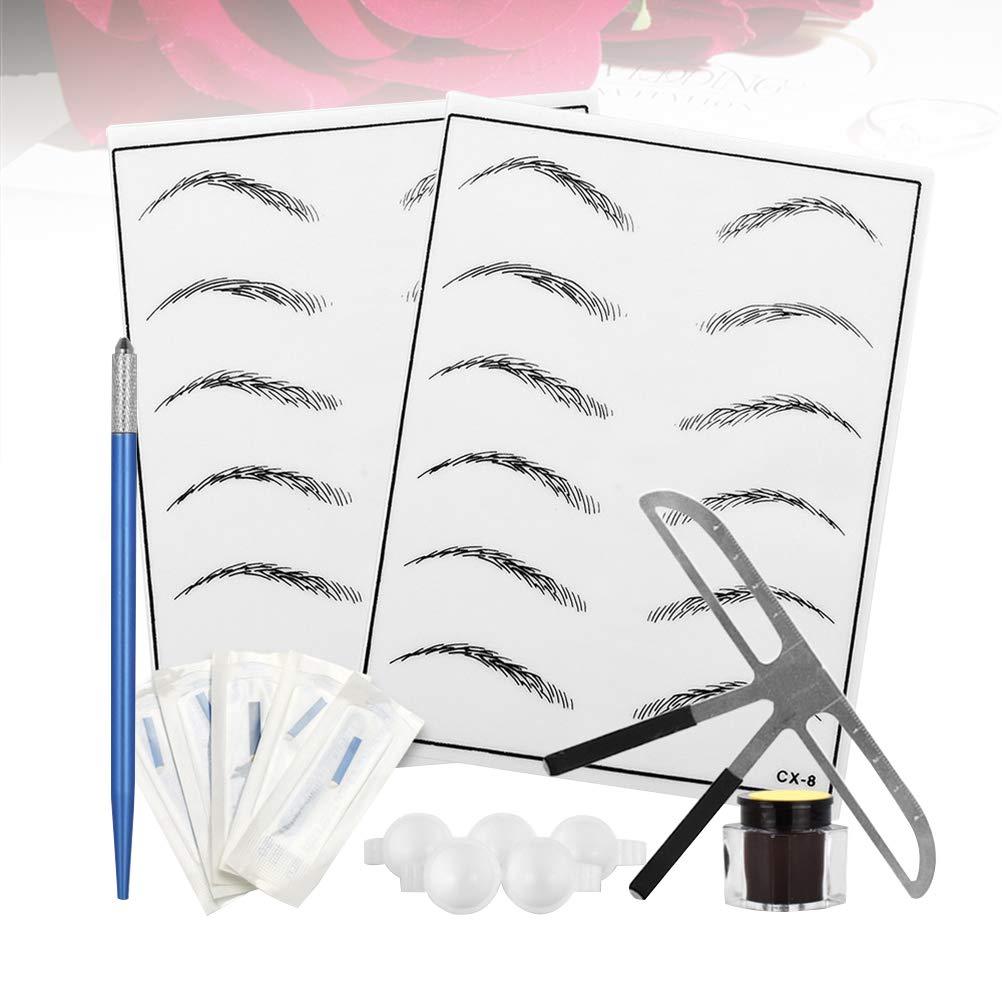 SUPVOX Kit de cejas Microblading juego de plumas para agujas ...