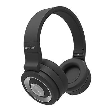 Betron BN15 auriculares Bluetooth, Inalámbrico, 10 m de alcance, construido en micrófono para iPhone, iPad, iPod, reproductores MP3, tablets y más: ...