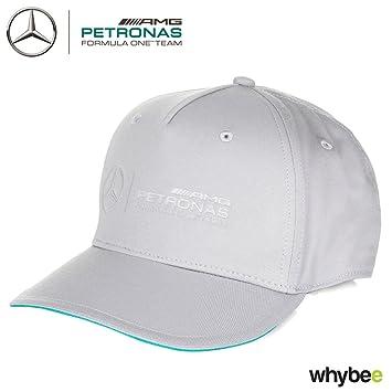 2017 Mercedes-AMG F1 Team Logo Gris Gorra, diseño de Lewis ...