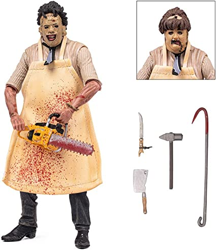 "NECA The Texas Chainsaw Massacre Ultimate Leatherface 7/"" PVC Action Figure Toy"
