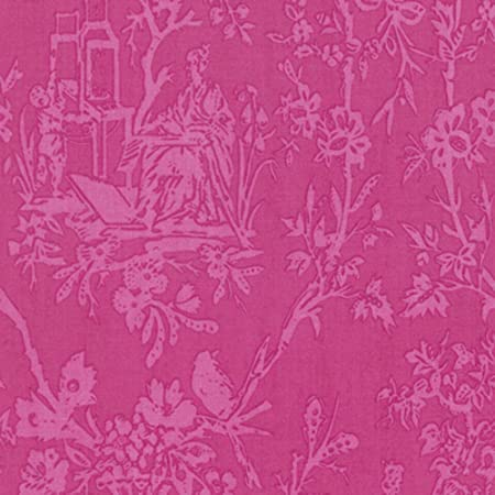 Jennifer Paganelli PWJP127 Sunny Isle Amber Pink Cotton Fabric By Yard