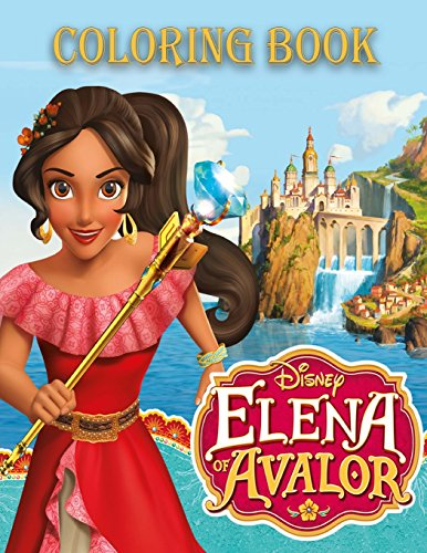 Best Disney ELENA OF AVALOR coloring book<br />[R.A.R]