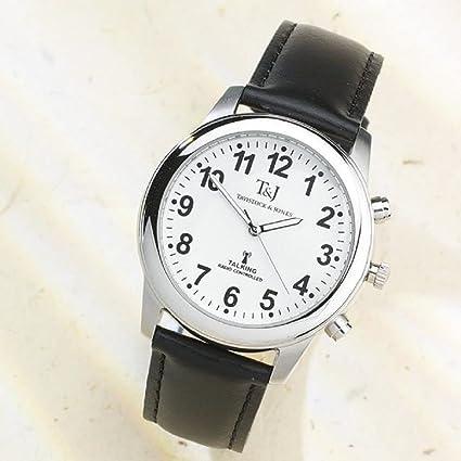 Radiocontrolado Habla Reloj De Pulsera - Negro, UNO