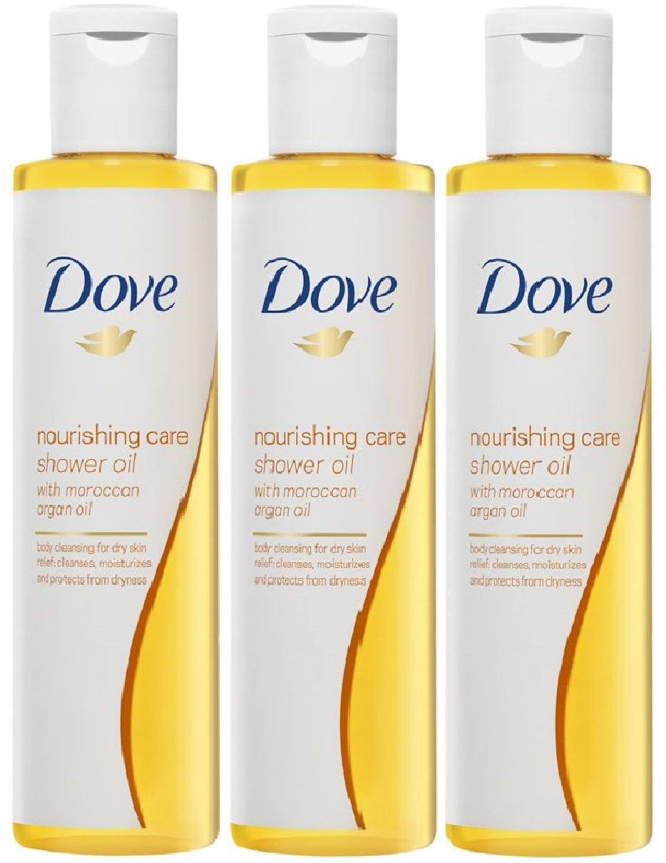 (3 PACK) Dove Nourishing Care In Shower Argan Oil x 200ml 8708426