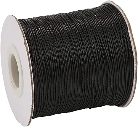 NBEADS 0.5mm 185 Yards Beading Cords and Threads Crafting Cord Waxed Polyester Thread for Jewelry Making Bracelet