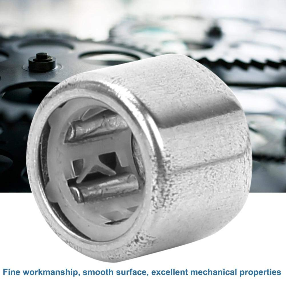 Innen- // Au/ßendurchmesser optional HF1008 Nadellager ID * OD * Breite = 10 * 14 * 8 mm Einweg-Nadellager 10-teiliges Nadelh/ülsenlager