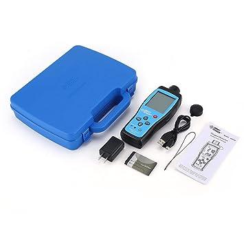 LasVogos Monitor de Calidad del Aire Medidor O2 Temperatura del oxígeno Analizador del Detector de Gas
