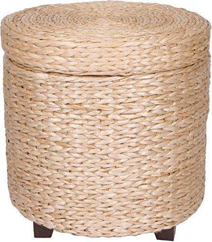 Keter 228474 Urban Knit Pouf Set Misty Blue Taupe