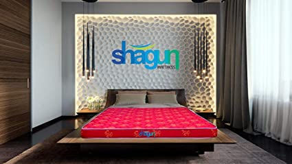 Shagun 4 Inch Queen Size Foam Mattress 72x60x4 Inches Red Amazon