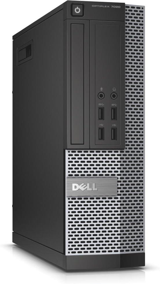 Dell Optiplex 7020 Desktop Computer, Intel Quad-Core i7-4770 Up to 3.6GHz, 16 GB RAM, 2TB HDD, DVD, USB 3.0, WiFi, HDMI, Windows 10 Pro (Renewed)