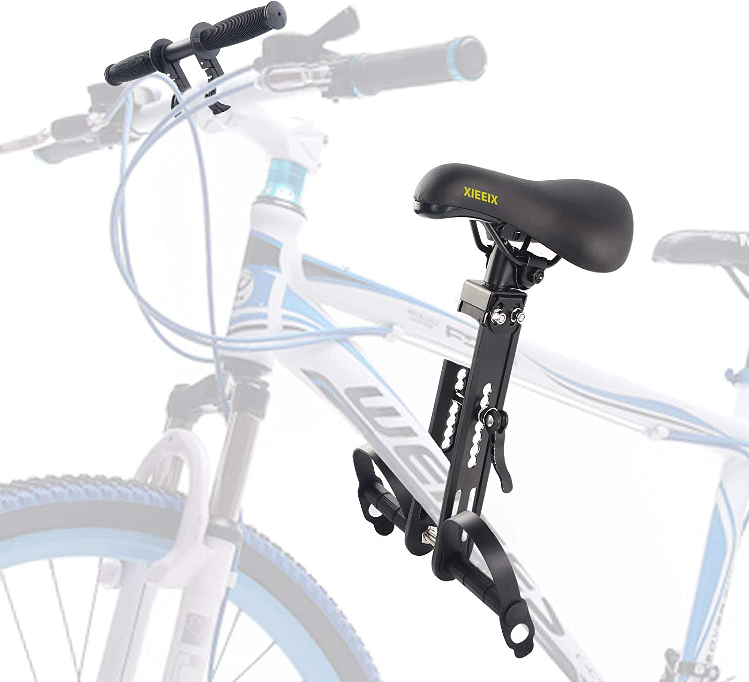 Lightweight Foldable Child Bicycle Seat Kids Bike Front Saddle for MTB Cycling
