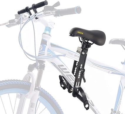 Child Bike Seat Front Mounted Bicycle Seats Detachable Mountain Bike Kids Seat