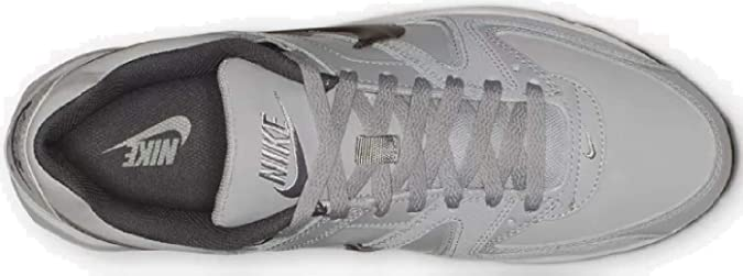 e2d5e7f556 Nike Men's Air Max Command Leather Running Shoes, (Wolf MTLC Dark Grey/Black/White  012), 13 UK: Amazon.co.uk: Shoes & Bags
