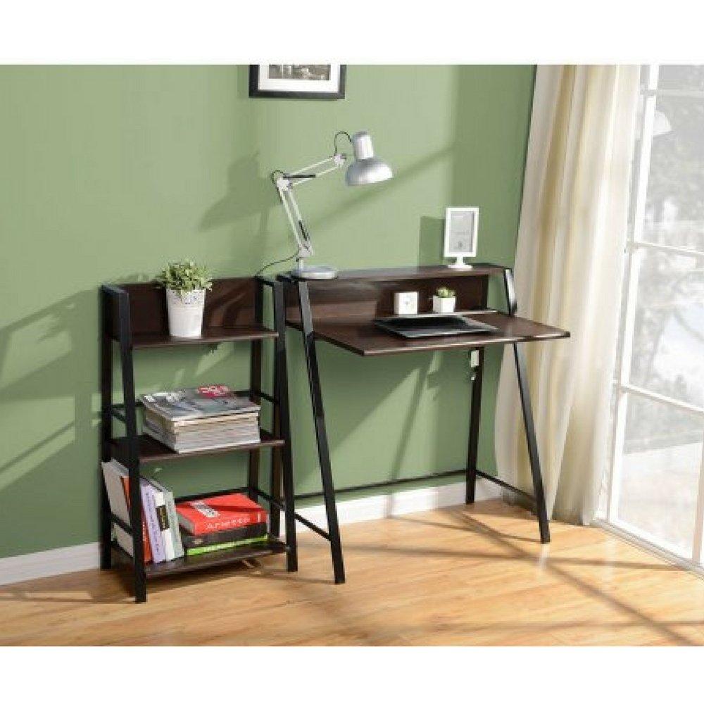 Amazon Mainstays 3 Shelf Bookcase Mocha Kitchen Dining