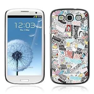 YOYOSHOP [Cool Psychedelic Colorful Pattern] Samsung Galaxy S3 Case Kimberly Kurzendoerfer