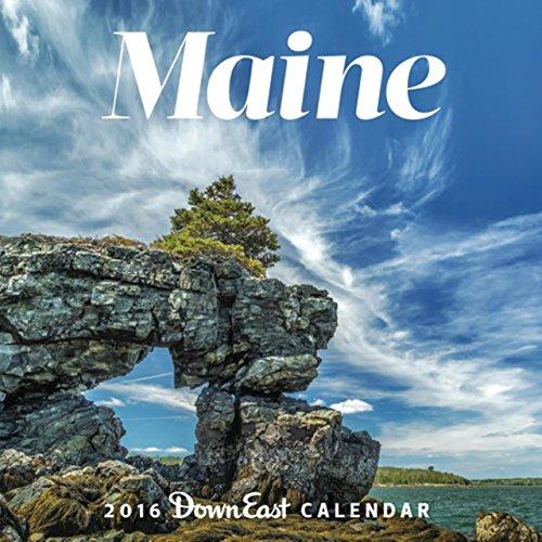 2016 Maine Down East Wall Calendar