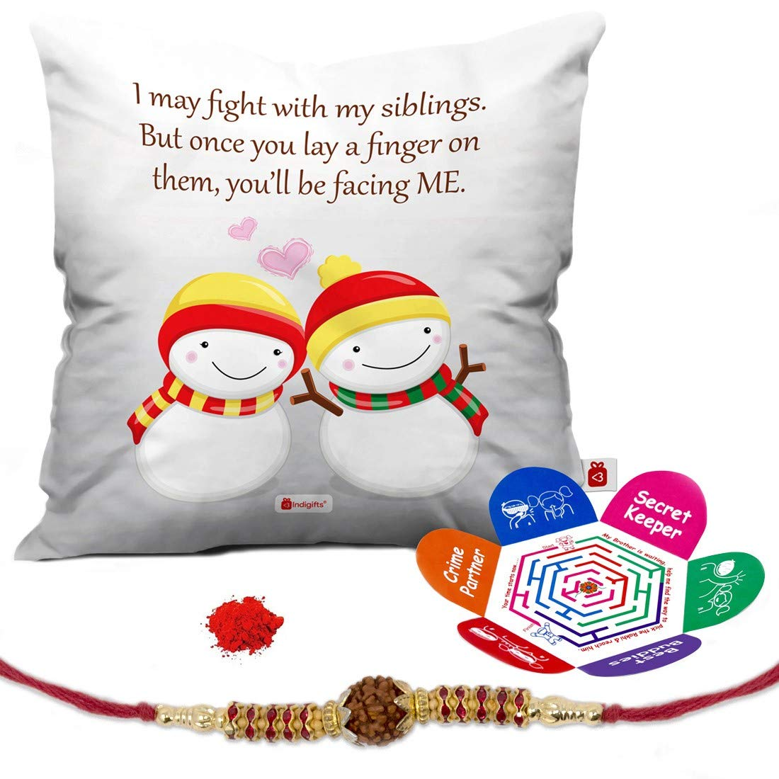 Indi ts Rakhi Gifts for Brother Set of Siblings Moments