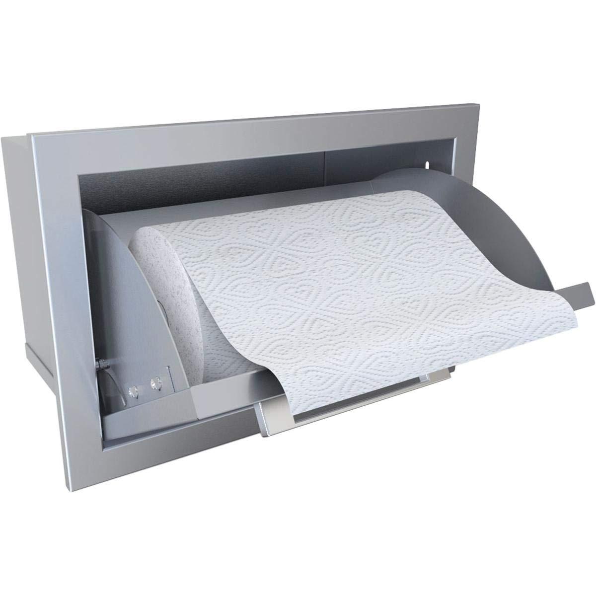 SUNSTONE BA-TH17 Signature Series Beveled Frame Swivel Paper Towel Holder by SUNSTONE