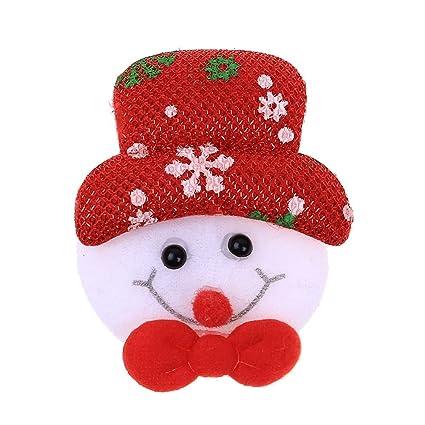 Amazon.com: Broche luminoso de Navidad Mome2019, 1 pieza de ...