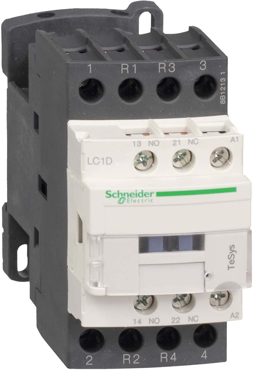 Schneider Electric lc1d098p7 TeSys D Contactor, 4P, 2 NA + 2 NC, 440 V AC-1, 230 Vac Coil, 20 A 2NA + 2NC 440V AC-1 230Vac Coil 20A Schneider Electric SE
