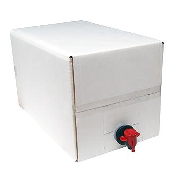 10 litros dispensador de vino recargable/Bolsa en una caja para vinos cerveza casera