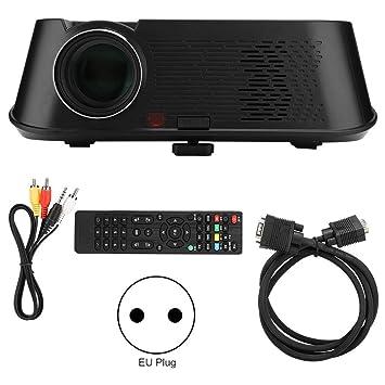 Proyector de video 3D HD,Mini proyector portátil,Proyector de cine ...