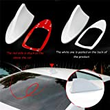Heart Horse Car Antenna Shark Fin, AM FM Radio