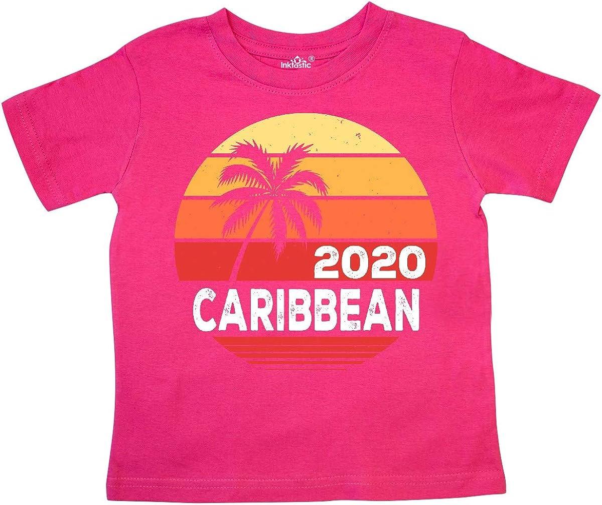 inktastic Caribbean 2020 Vacation Travel Cruise Toddler T-Shirt