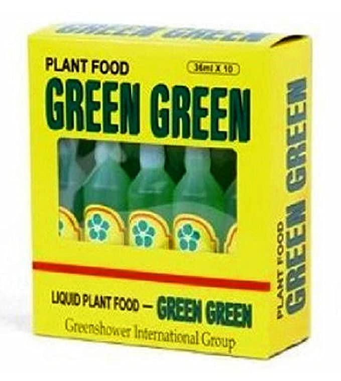 Amazoncom Green Green Plant Food Case 10 Bottles Fertilizers