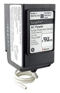 GE Surge Arrester, Flush Mounting Style, for Use with Load Center