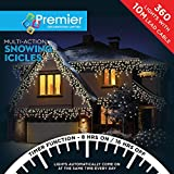 Indoor Amp Outdoor Icicles Christmas Warm White 360 Led