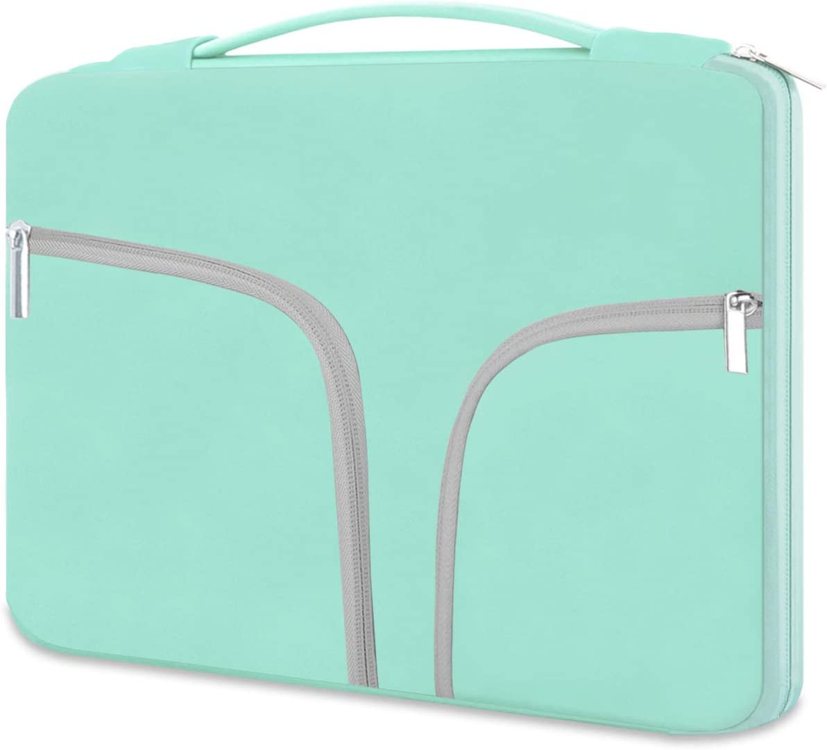 HESTECH Chromebook Case, 11.6-12.5 inch Neoprene Laptop Sleeve Case Bag Handle Compatible with Acer Chromebook r11/HP Stream/Samsung Chromebook/MacBook air 11/ Surface Pro3/Pro4, Mint Green