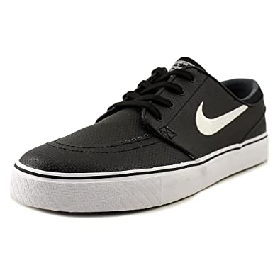 new appearance buy best best prices nike SB zoom stefan janoski L mens trainers 616490 sneakers shoes (10 M US,  black white wolf grey 013)