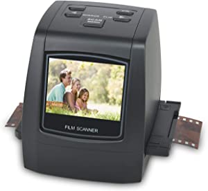 DIGITNOW 22MP All-in-1 Film & Slide Scanner, Converts 35mm 135 110 126 and Super 8 Films/Slides/Negatives to Digital JPG Photos, Built-in 128MB Memory, 2.4 LCD Screen