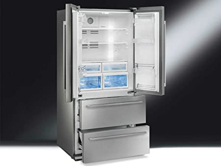 Side By Side Kühlschrank Französisch : Smeg fq fxe kühlschrank side kühlschrank u kühlschrank