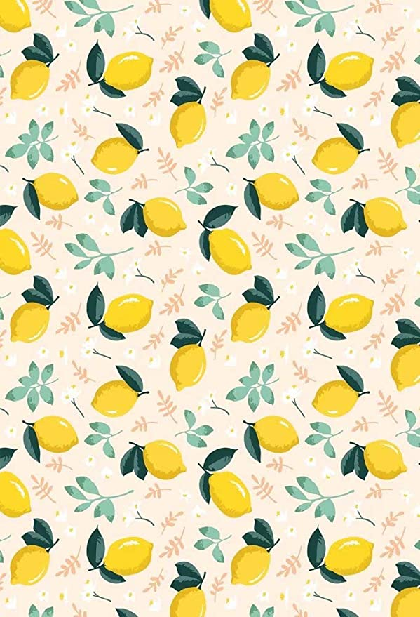 New Lemon Cart Baby Shower Backdrop Polyester Fabric 7x5ft Girls Boys Baby Shower Party Photos Background Lemon Fruits Shoots Kids Room Decor Gender Reveal Photos Video Props